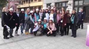 16 dana aktivizma: Ulična akcija (25.11.2014.)