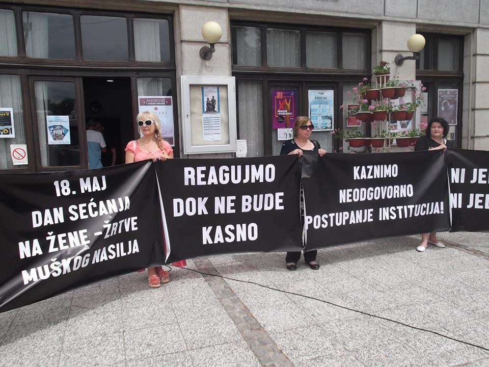 Žene za mir povodom predstojećeg ročišta u postupku Marija Lukić protiv Milutina Jeličića Jutke